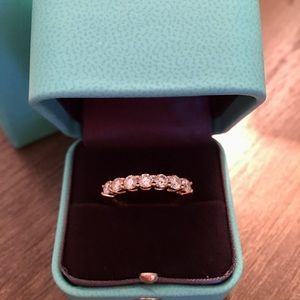 Tiffany & Co Embrace Collection 3mm Diamond Band